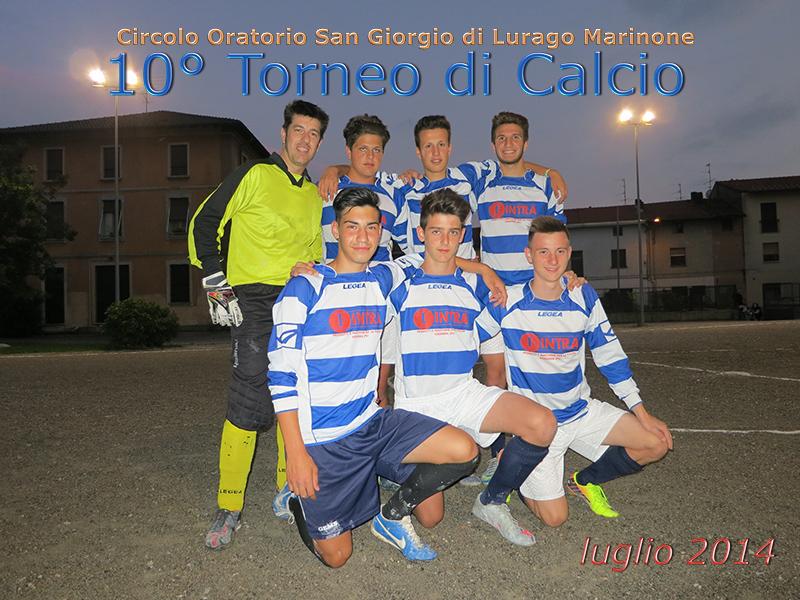10° torneo di Calcio