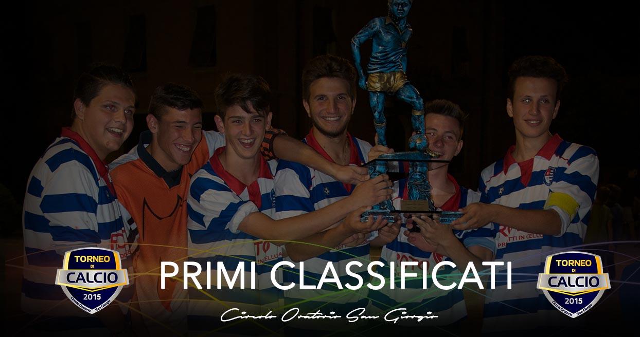 Finali 11° Torneo di Calcio
