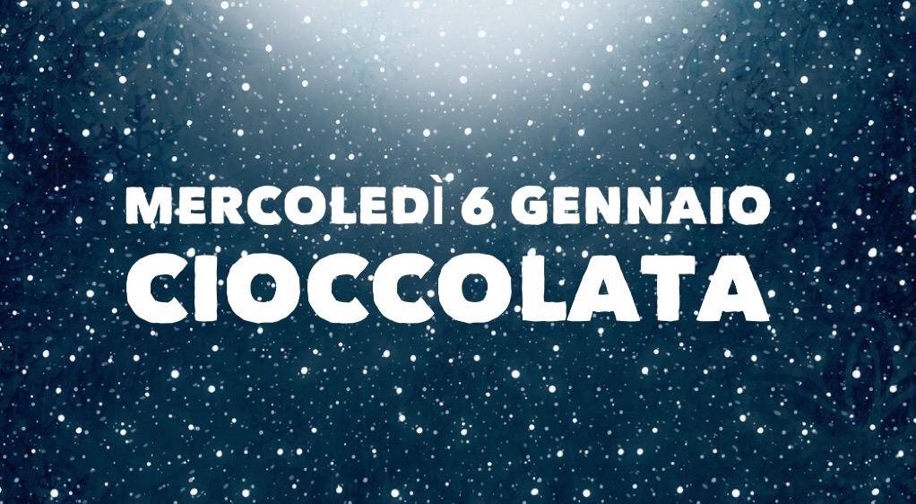 Bacio a Gesù Bambino e Cioccolata