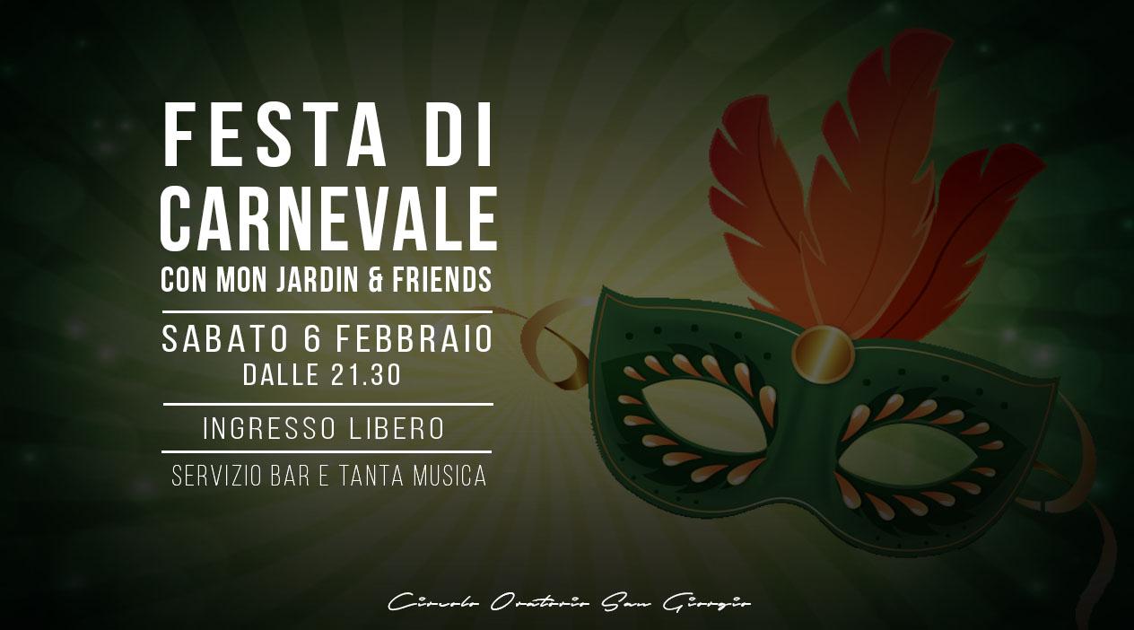 Festa di Carnevale con i Mon Jardin & Friends