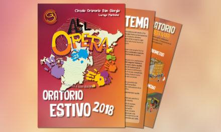 Il programma dell'Oratorio Estivo 2018