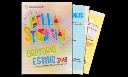 Il programma dell'Oratorio Estivo 2019