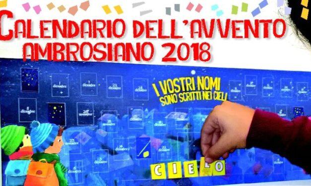 Il nuovo Calendario dell'Avvento ambrosiano 2018