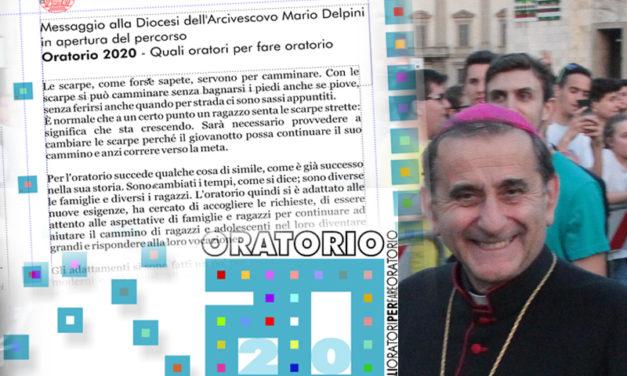 Il Messaggio dell'Arcivescovo alla Diocesi in apertura del percorso ORATORIO 2020