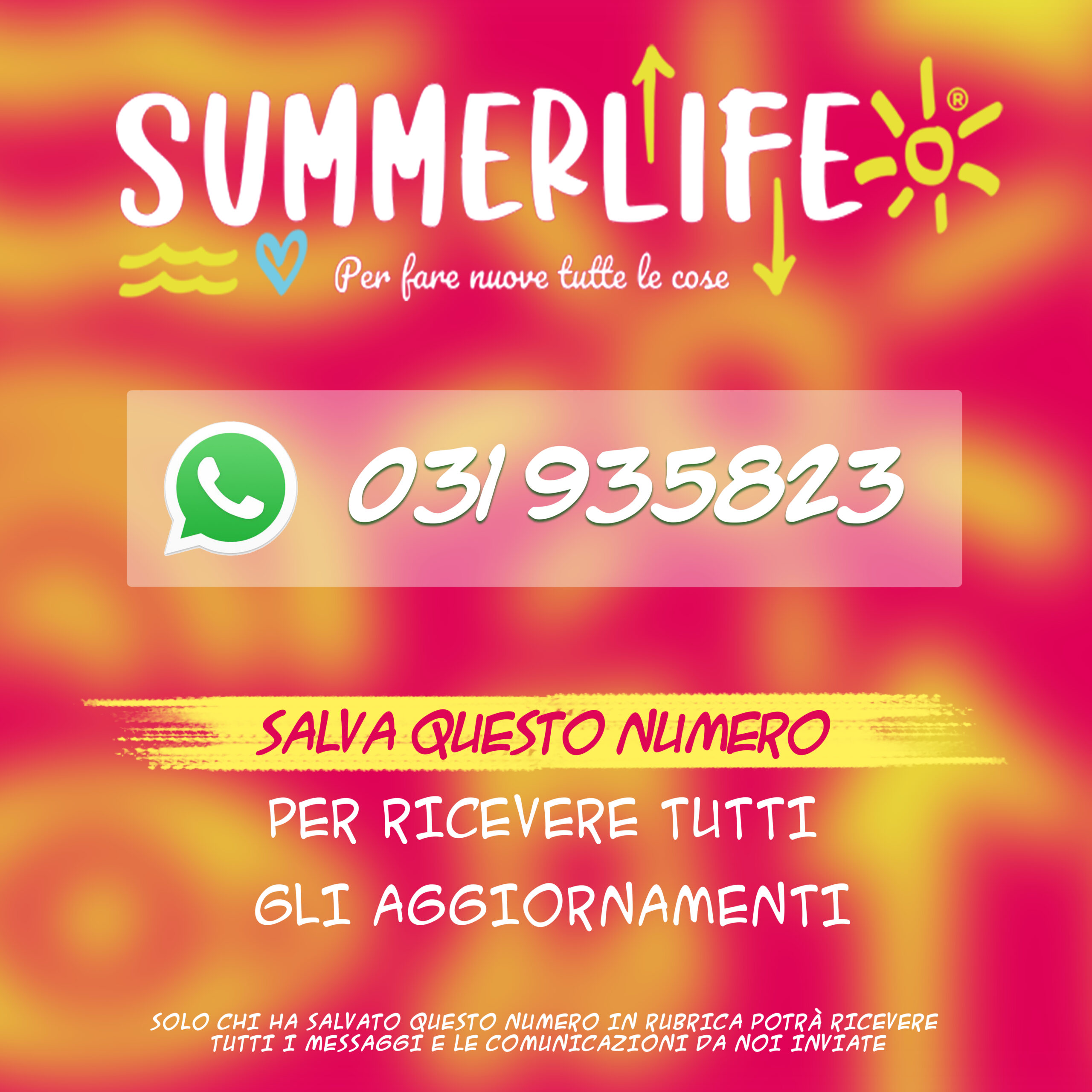 Summerlife 2020 - Whatsapp
